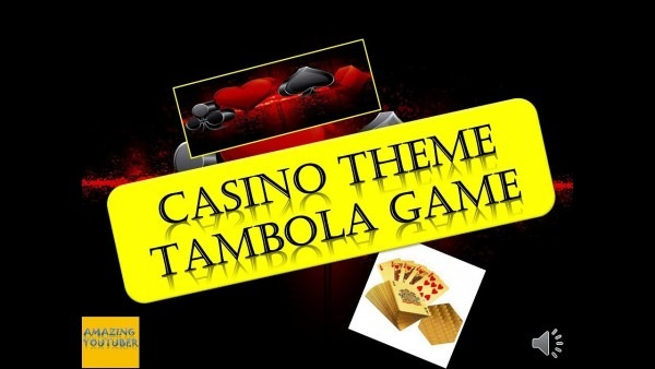 Casino Theme Game For Christmas & New Year Party    Fun Game For