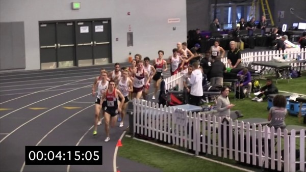 Uw Invitational, Men's 3,000 Meter, Heat 1