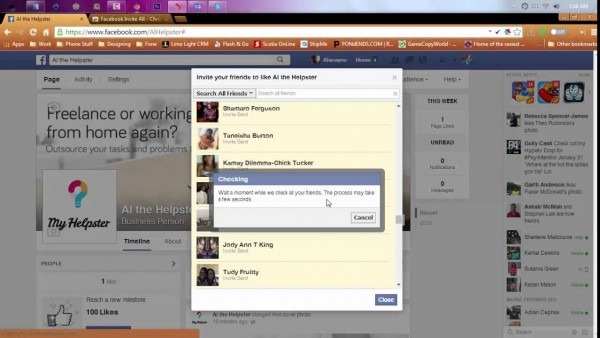 How To Invite All Friends To Facebook Page At Once 2015