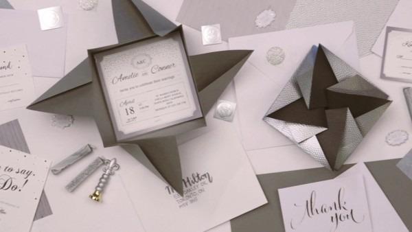 Diy Origami Envelopes For Your Wedding!