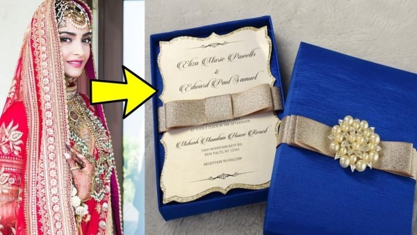 10 Most Expensive Wedding Invitation Cards Of Bollywood Divas
