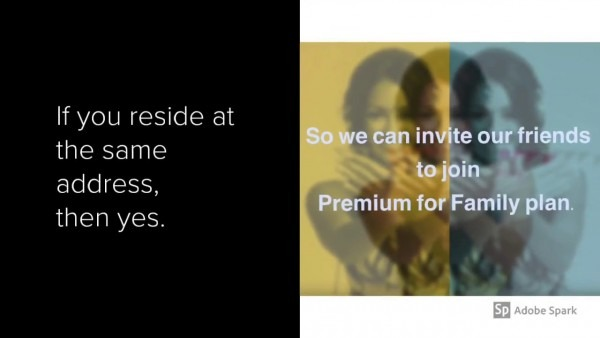 We Can Invite Friends To Join Spotify Premium For Family Plan