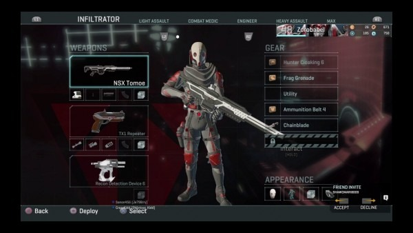 Planetside 2 Ps4 New Pathfinder And Max Unit Armor