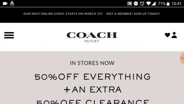 How To Buy From The Online Coach Outlet!