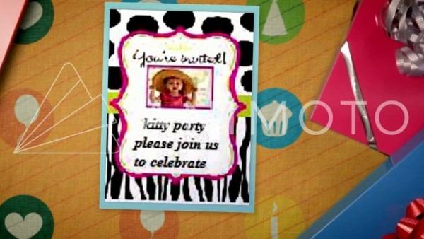 Kitty Party Invitation By Sandhya & Sowmya