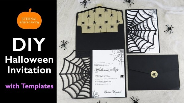 Diy Halloween Invitation Card
