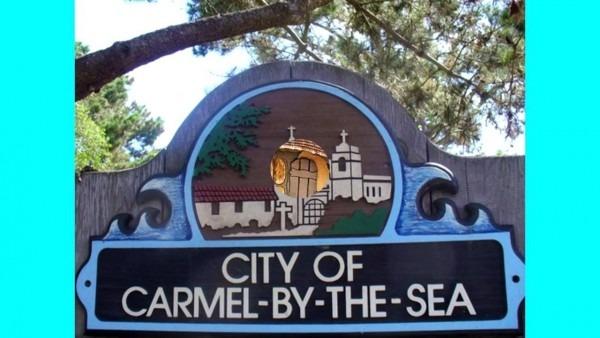Carmel California Downtown Joe Sample Invitation