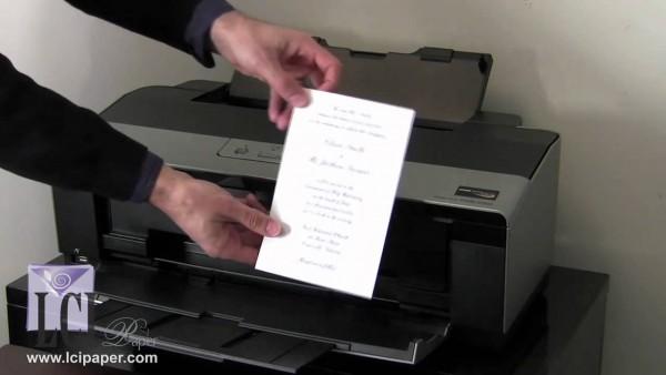 How To Print Your Own Invitations