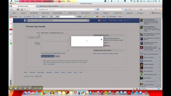 How To Import My Linkedin Connections Into Facebook   Social Media