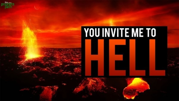 You Invite Me To Hell