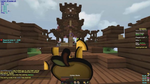 Getting Banned On Stream  (hypixel)