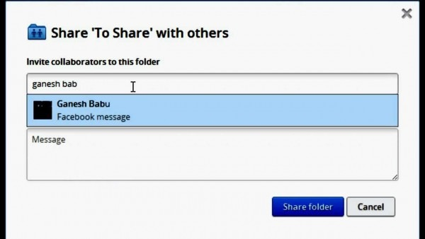 How To  Invite Facebook Friends To Dropbox Folder