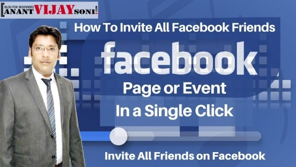 How To Invite All Facebook Friends In A Page Or Event In A Single
