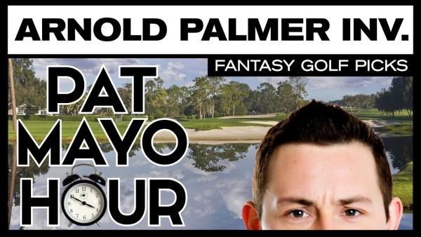 Fantasy Golf Picks  2017 Arnold Palmer Invitational Picks, Bets