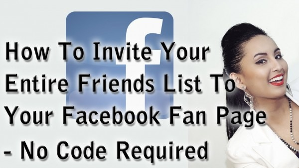 How To Invite All Friends To A Facebook Page