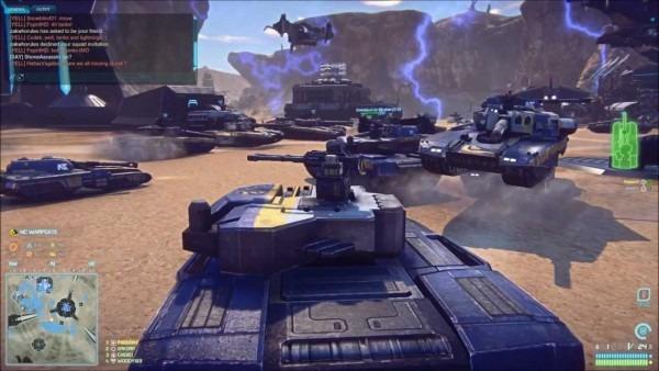 Planetside 2  New Conglomerate Tank Assault