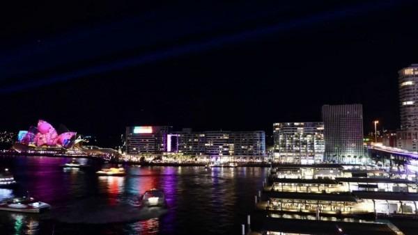 American Express Invites Lounge Vivid Sydney