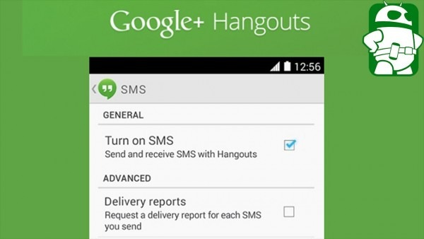 Google Hangouts With Sms