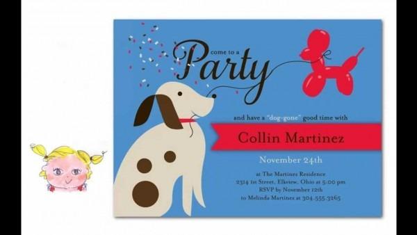 Maxresdefault Lovely Dog Birthday Invitations