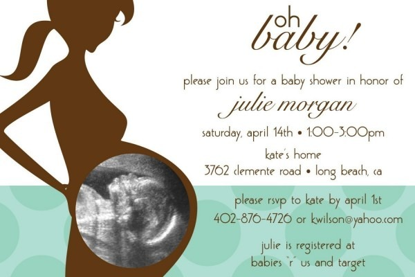 Mesmerizing Baby Shower Sample Invitation 14 For Your Picture