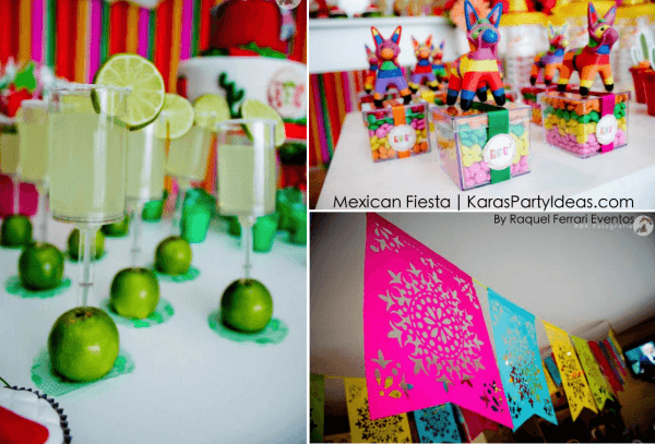 Kara's Party Ideas Mexican Fiesta Themed Family Adult Birthday
