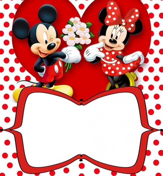 Mickey Mouse Birthday Invitation Template Popular With Mickey