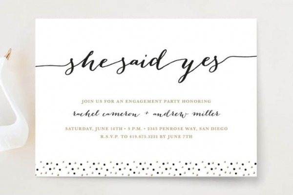 Related Image For Engagement Invitation Cards Online Editing
