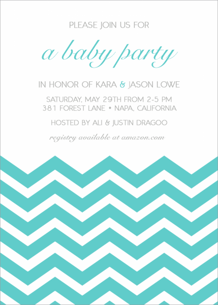 Modern Baby Shower Invitations By Minkcards Com