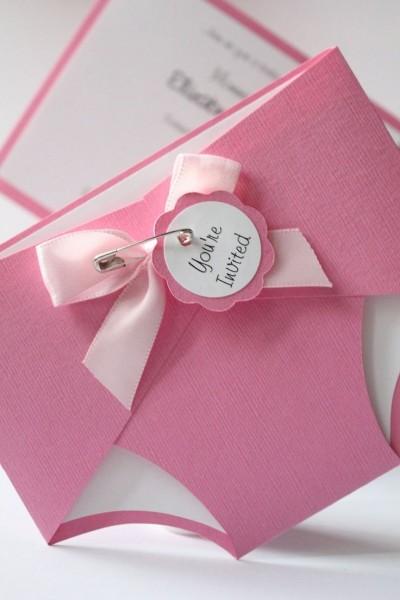 Modern Baby Shower Invitation Wording For First Girl