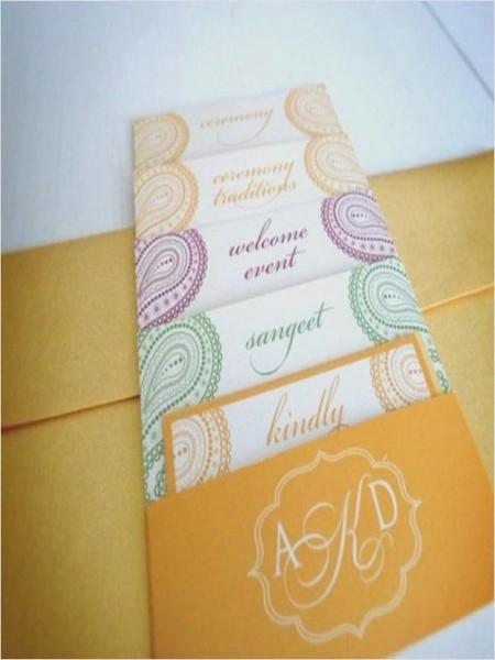 206458 Modern Indian Wedding Invitations Uk View Invite, Modern