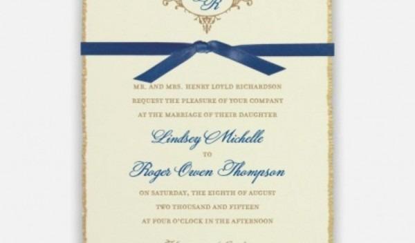 Monogram Wedding Invitations Awesome Monogram Wedding Invitations