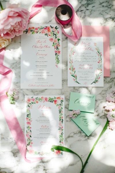 Wedding Invitation Etiquette  When To Send Wedding Invitations