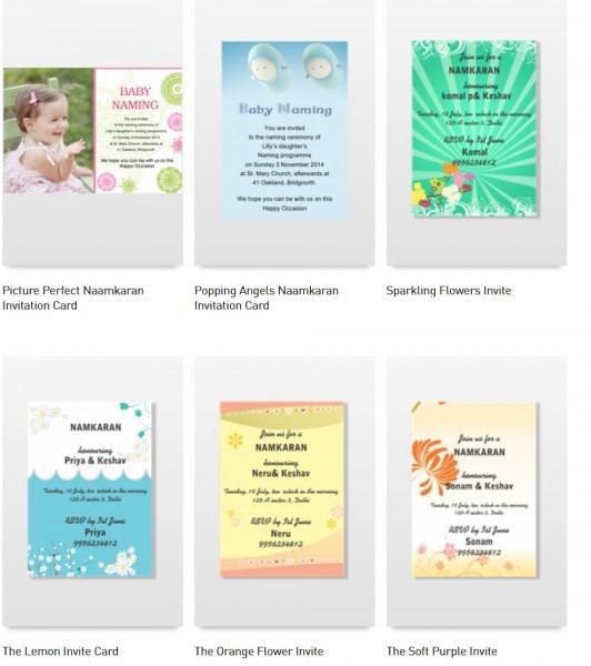 19 Invitation Card Format In Marathi For Namkaran, Namkaran In For