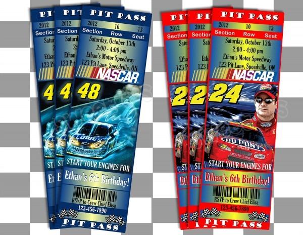 Tickets To Nascar