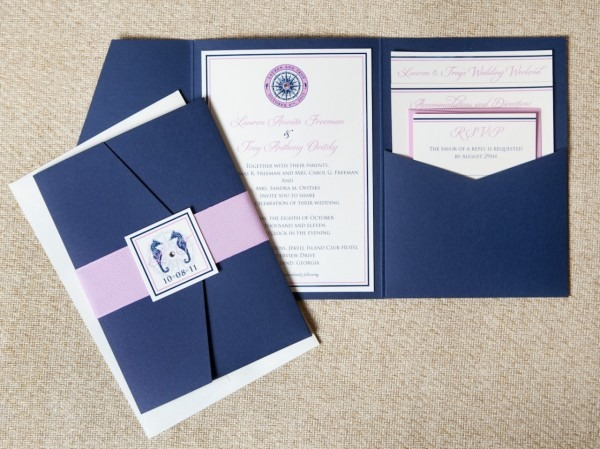 25 Nautical Wedding Invitations You Love To Try