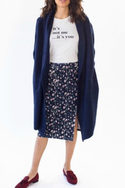 Pink Martini Collection Navy Stockport Jacket From Pennsylvania By