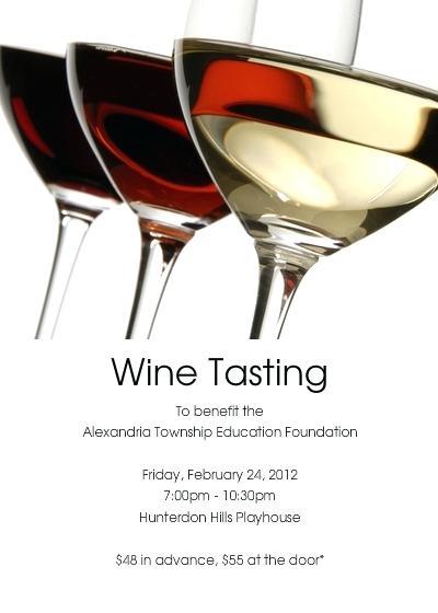 Winetasting Fresh Wine Party Invitation Templates Free