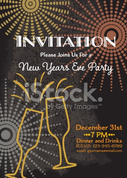 New Years Eve Invitation Templates Nice New Year Party Invitation