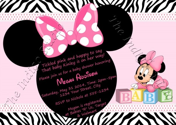 Minnie Mouse Personalized Invitations » Invitation Card Ideas
