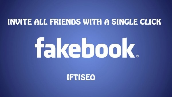 Code To Invite All Facebook Friends With A Single Click 2014