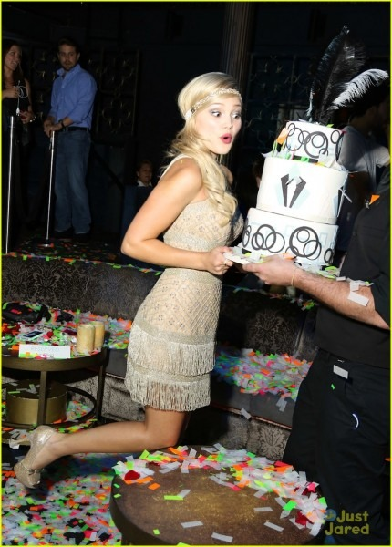 Olivia Holt  Old Hollywood Sweet 16 Party Pics!