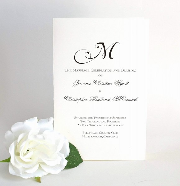 One Page Wedding Invitation Best Of E Page Wedding Invitation