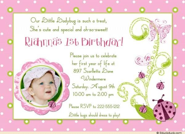 Butterfly Birthday Invitation Wording