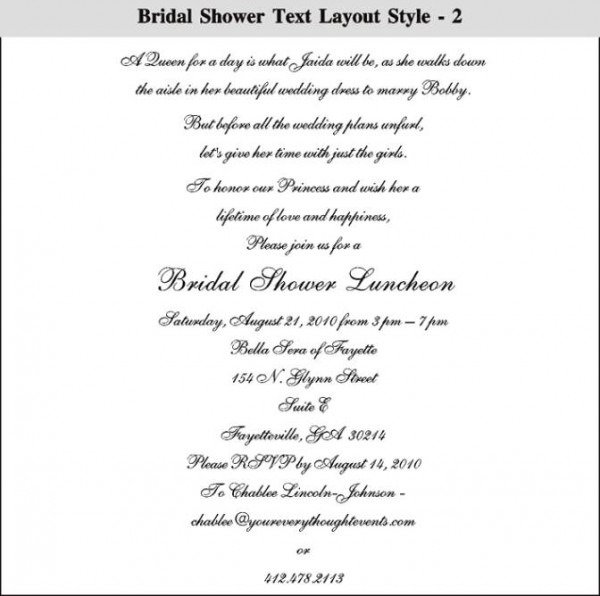 How To Choose Your Wedding Spectacular Party Invitation Email To