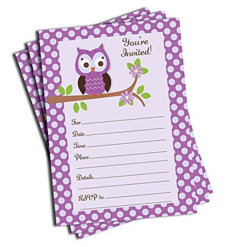 Owl Birthday Invitations Owl Birthday Invitations And Your New