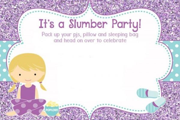 Pajama Party Invitations Pajama Party Invitations And New Party