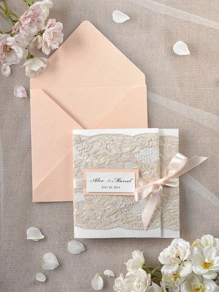 Peach Wedding Invitations Peach Wedding Invitations With Best
