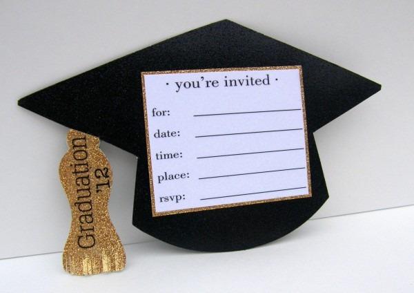 Perfect Diy Graduation Invitations 72 On Invitations Cards