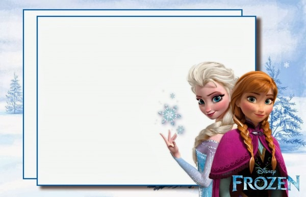 Free Frozen Printable Birthday Invitations » Invitation Card Ideas