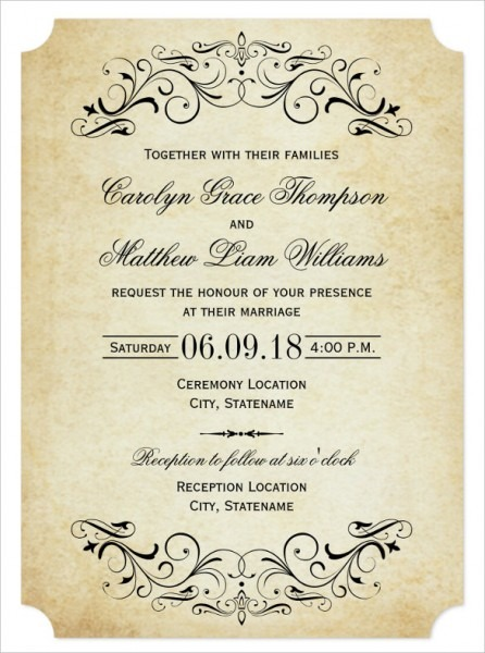 Personal Wedding Invitation Wording What To Write On Wedding